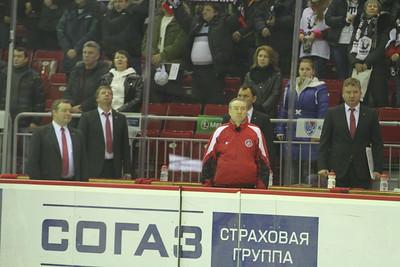 Трактор (Челябинск) - Металлург (Новокузнецк) 3:1. 26 декабря 2012