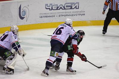 Трактор (Челябинск) - Торпедо (Нижний Новгород) 6:3. 17 октября 2012