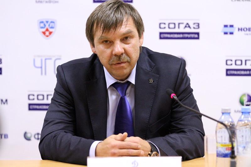Главный тренер сборной России Олег Знарок прокомментировал матч, в котором наша команды выиграла у сборной Финляндии со счетом 4:2.
