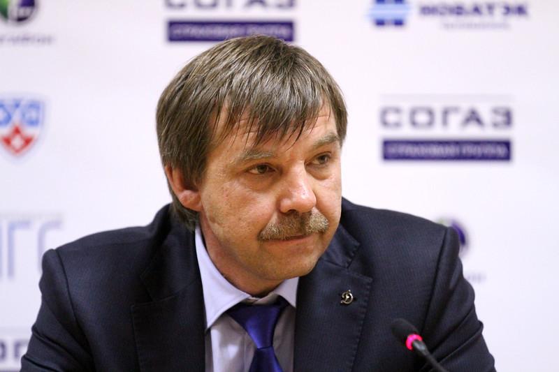 Главный тренер сборной России Олег Знарок прокомментировал матч, в котором наша команды выиграла у сборной США со счетом 6:1.