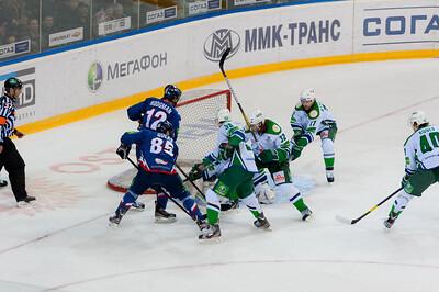 Металлург (Магнитогорск) - Салават Юлаев (Уфа) 2:0. 22 февраля 2013