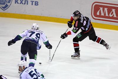 Трактор (Челябинск) - Югра (Ханты-Мансийск) 2:1. 23 ноября 2012