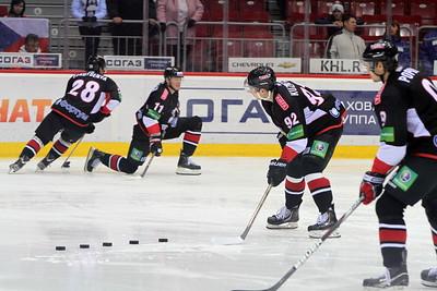 Трактор (Челябинск) - Динамо (Рига) 3:1. 3 декабря 2012