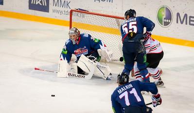 Металлург (Магнитогорск) VS Донбас (Донецк) 1 : 2. 7 декабря 2012 г.