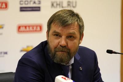 Олег Знарок, главный тренер сборной России