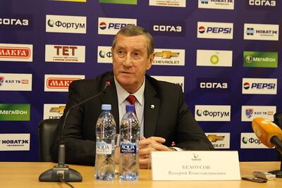 Главный тренер челябинского Трактора Валерий Белоусов и главный тренер астанинского Барыса Ари-Пекка Селин прокомментировали матч, в котором Барыс выиграл со счетом 4:0