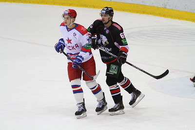 Челябинский Трактор сыграл в Москве против ЦСКА.