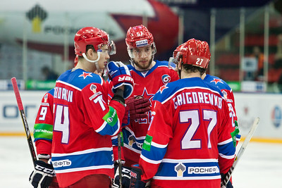 Магнитогорский Металлург уступил в Москве ЦСКА в серии буллитов со счетом 1:2