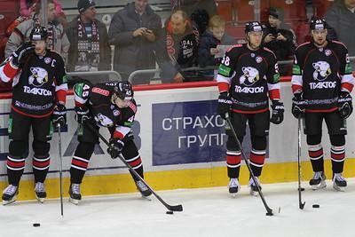 Трактор (Челябинск) - Динамо (Рига) 2:5. 9 января 2014