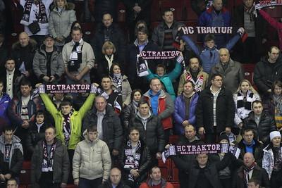 Трактор (Челябинск) - Лев (Прага) 2:3 Б. 3 января 2014