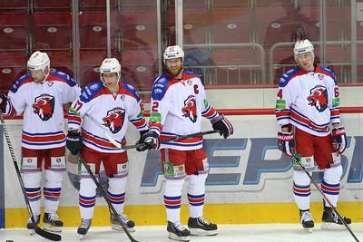Пражский Лев выиграл в овертайме у магнитогорского Металлурга со счетом 5:4 в шестом матче финальной серии Кубка Гагарина.