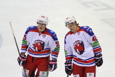 Пражский Лев выиграл у ярославского Локомотива со счетом 3:2 и вышел в финал Кубка Гагарина.