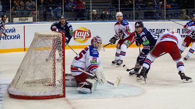 В Магнитогорске прошел первый матч финальной серии между Металлургом и пражской командой Лев.