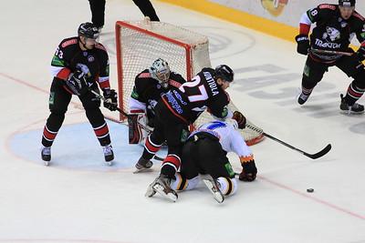 Челябинский Трактор провел последний матч в уходящем году в Череповце против местной Северстали