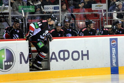 Трактор (Челябинск) - Северсталь (Череповец) 3:2 Б. 22 октября 2013