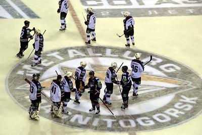 Магнитогорский Металлург одержал победу в овертайме над новосибирской Сибирью со счетом 3:2.