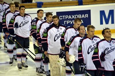 Металлург (Магнитогорск) - Сибирь (Новосибирск) 3:2 ОТ. 18 сентября 2013
