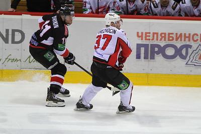 Трактор (Челябинск) - Авангард (Омск) 6:4. 27 марта 2014