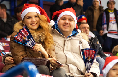 Металлург (Магнитогорск) - Ак Барс (Казань) 2:3. 28 декабря 2014