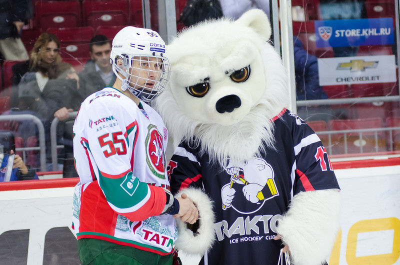 Челябинский Трактор уступил казанскому Ак Барсу по буллитам со счётом 2:3.