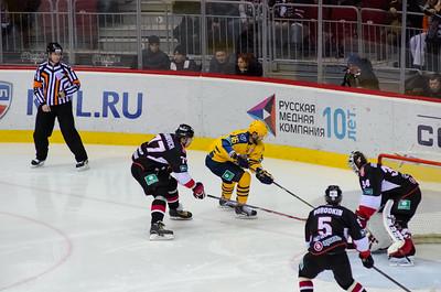 Трактор (Челябинск) - Атлант (Московская область) 2:1. 24 октября 2014