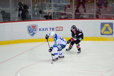 Трактор (Челябинск) - Барыс (Астана) 4:6. 2 октября 2014