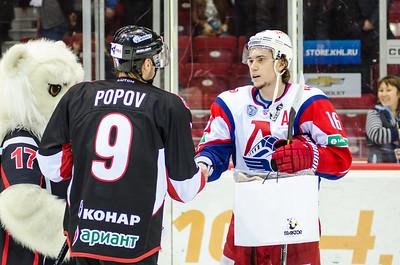 Челябинский Трактор проиграл ярославскому Локомотиву на домашнем льду в овертайме со счётом 3:4.