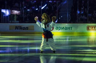 Трактор (Челябинск) - Югра (Ханты-Мансийск) 4:2. 15 февраля 2015