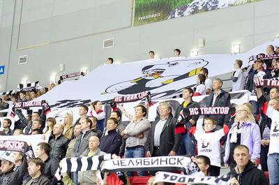 Трактор (Челябинск) - Югра (Ханты-Мансийск) 4:2. 26 сентября 2014