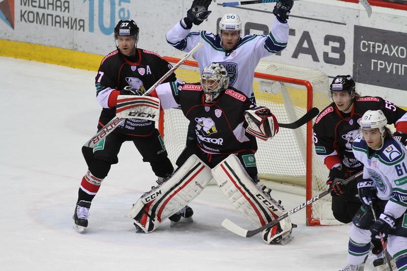 Челябинский Трактор выиграл в Ханты-Мансийске у Югры со счётом 2:1 в овертайме