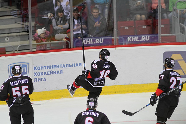 Трактор (Челябинск) - Барыс (Астана) 2:1.  1 сентября 2015
