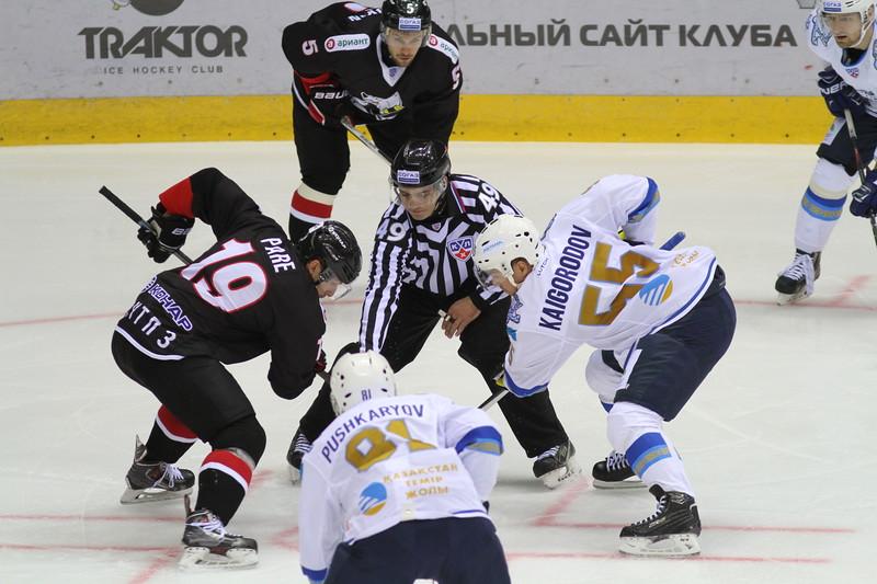 Челябинский Трактор выиграл у Барыса из Астаны со счётом 2:1 в заключительном матче домашней серии игр.