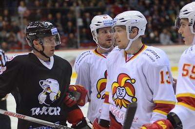 Челябинский Трактор обыграл финский Йокерит со счётом 5:3 на своём льду.