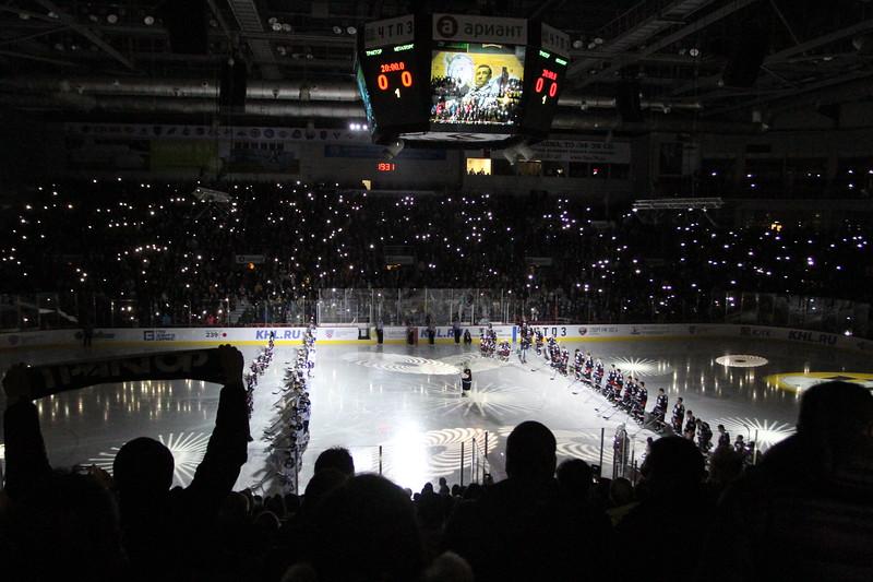 Челябинский Трактор проиграл у себя дома магнитогорскому Металлургу со счётом 1:4 в матче Континентальной хоккейной лиги.
