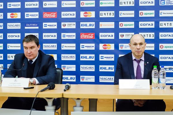 Анвар Гатиятулин и Дмитрий Юшкевич