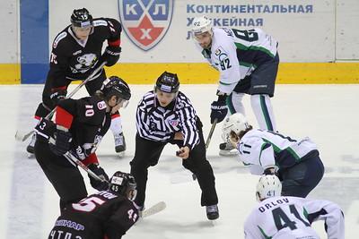 Челябинский Трактор проиграл у себя дома Югре из Ханты-Мансийска со счётом 2:3 в матче Континентальной хоккейной лиги.