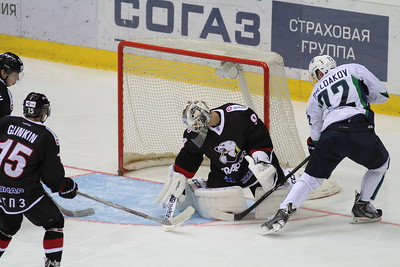 Трактор (Челябинск) - Югра (Ханты-Мансийск) 3:5. 28 августа 2015