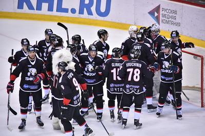 Челябинский Трактор выиграл в Ханты-Мансийске у Югры со счётом 7:4 в своём заключительном матче нынешнего сезона.