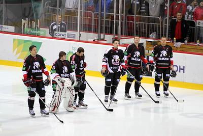 Трактор (Челябинск) - Белые Медведи (Челябинск) 3:2. 11 ноября 2012