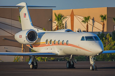 David Wilson Automotive Group Gulfstream G450 N1DW 9-16-17