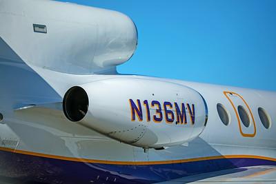 Dassault Mystere Falcon 50 N136MV 8-26-17 2