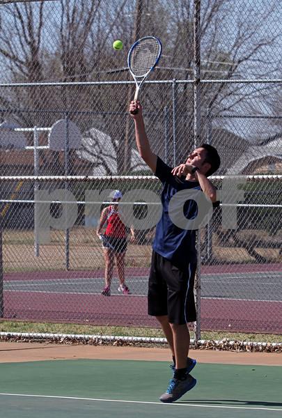 KHS Tennis vs Chisolm