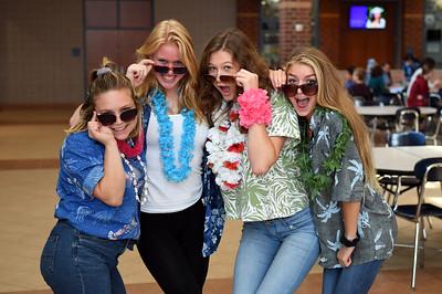 Tuesday: Hawaiian Day
