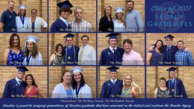 Class of 2021 Legacy Graduates