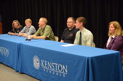 Kenston College Signing