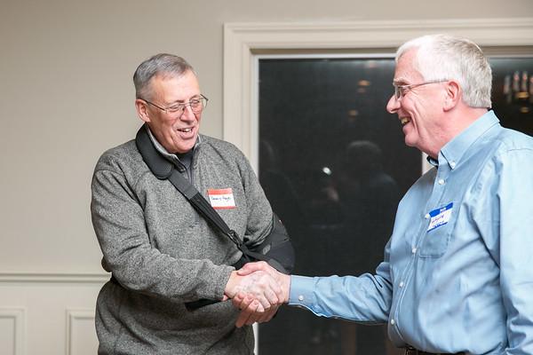 Dennis Page and Wayne Logee
