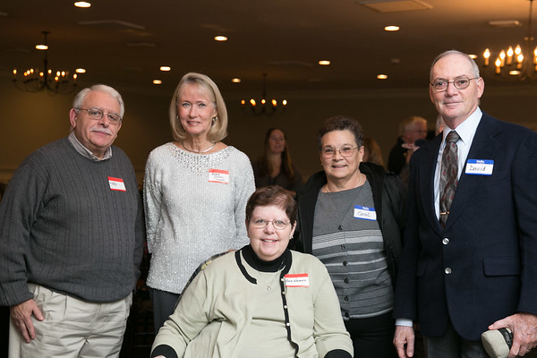 Anne and  Ted Haveles, Arlene Rybacki, David and Carol Desrosiers-Caron