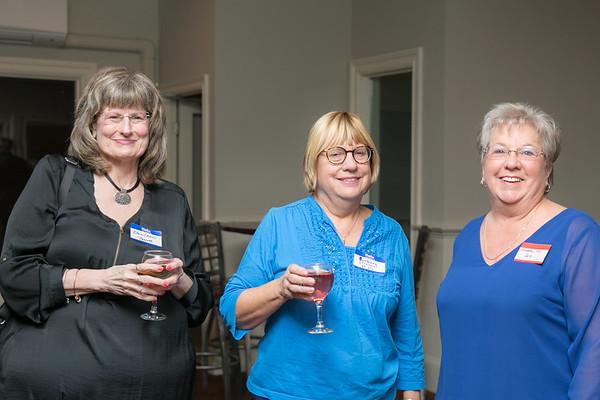 Elaine Aubin-Bessette, Barbara Tranes-Mills and Rochelle Cyr-Alix