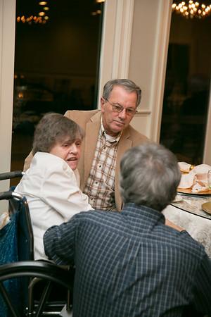 Wayne and Paula (Loiselle) Magao with Paul Dalbec