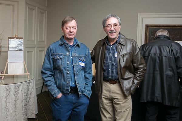 Bob Pechie and Paul Dalbec